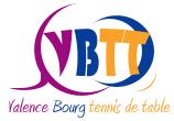 Valence Bourg Tennis de Table
